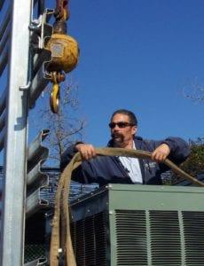 Crane Lift Steve